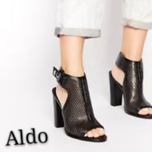 Aldo Aelalla Block Heel Chunky Heel Fall Booties